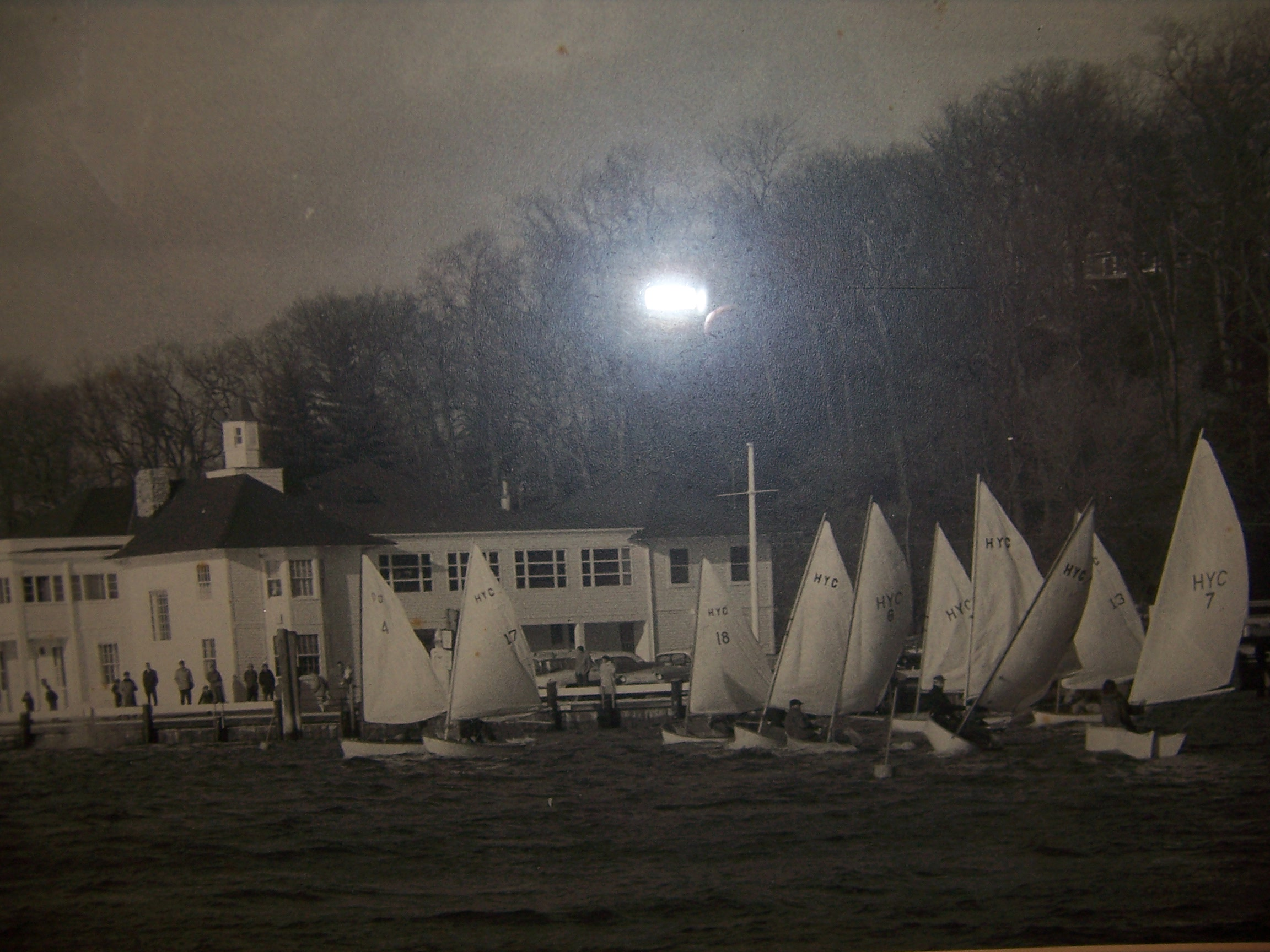 HYC Frostbiting in Dyer Dhow's - Circa 1955